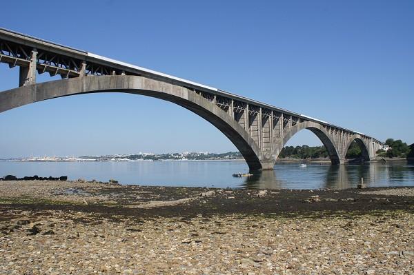 Plougastel Bridge,1930