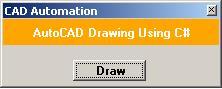用C#实现外部调用CAD绘图一例-CAD Automation