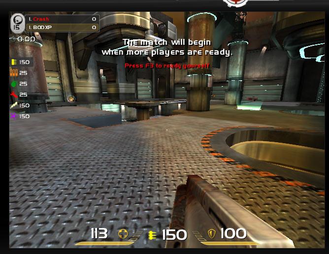 用浏览器玩雷神之锤:Quake Live