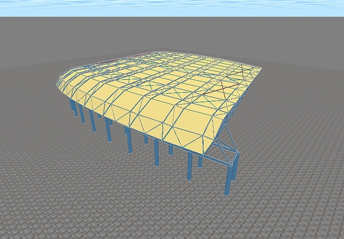 MIDAS渲染模式的视角控制方法